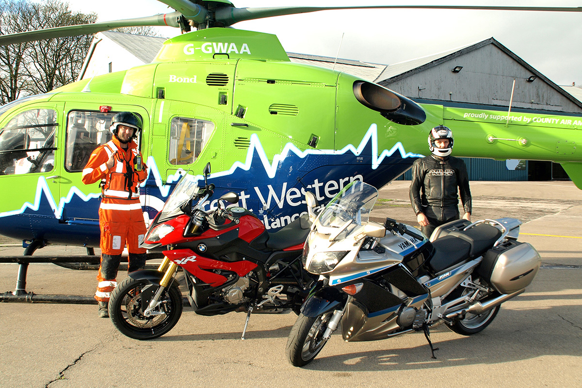 Meet the volunteers delivering life-saving blood to our air ambulance