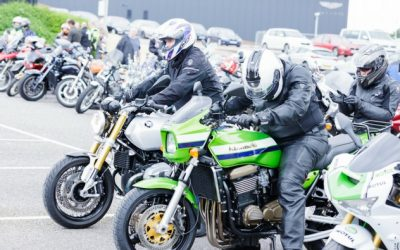 Hundreds of bikers take part in GWAAC's Ride 4 GWAAC